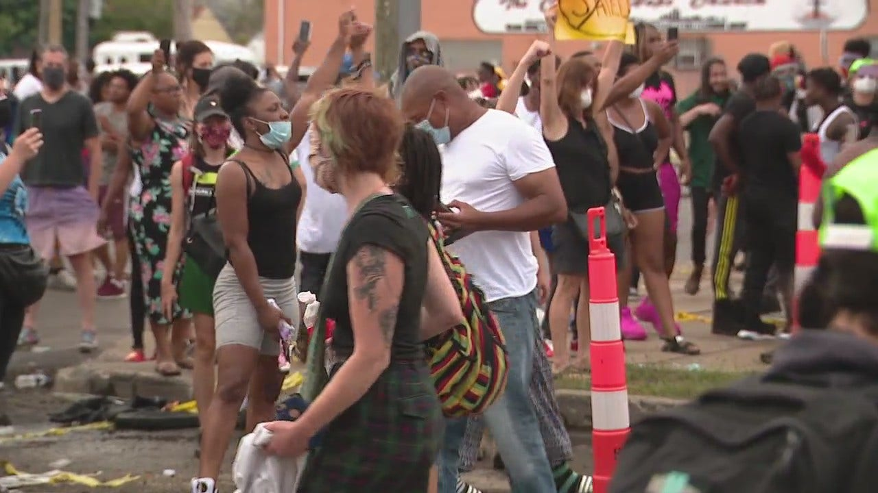 Protesters Unswayed By Police Video Showing Fatal Shooting