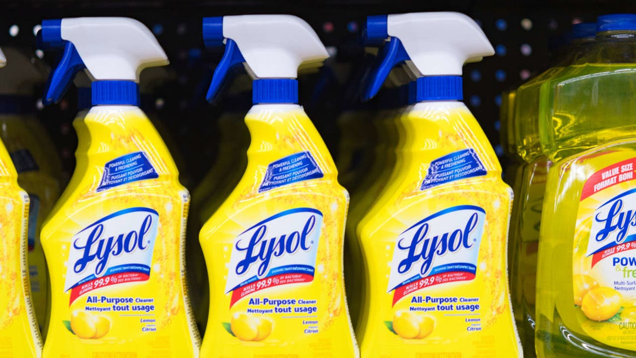 Lysol Disinfectant Spray effective against COVID-19: EPA | fox2detroit.com
