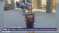 Family speaks out after son's shooting death
