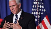 Vice President Mike Pence campaigns on administration's record during Waterford visit