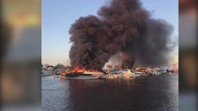 Investigation into burning boats in St. Clair Shores continues, second boat ablaze owned by Kirk Gibson