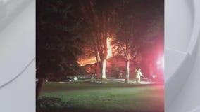 Elderly couple dead after house fire in Van Buren Township early Thursday