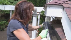Installing gutter guards with Jill of All Trades