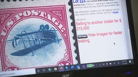 Metro Detroit stamp collector gets $215,000 at auction for rare Inverted Jenny stamp