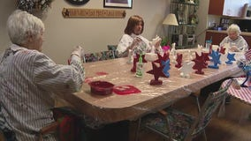 Quality of Life Center helps dementia patients with painting projects to help others