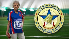 More than 250 veterans compete in virtual 'Golden Age Games' from home, snagging 100 gold medals