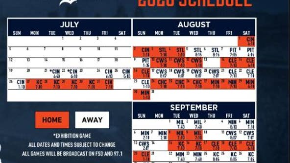 Tigers open July 24 at Reds as MLB releases shortened 60-game schedule
