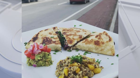 Meatless Monday: Que's Quesadillas