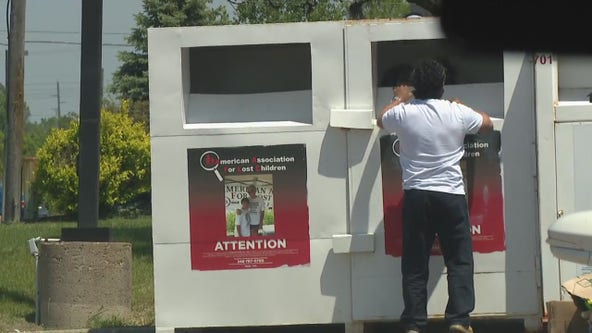 These clothing collection bins take the shirt off your back but don't give to charity