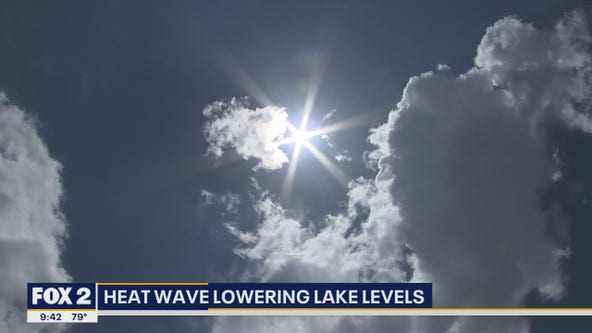 Heat Wave helping lower Great Lakes levels