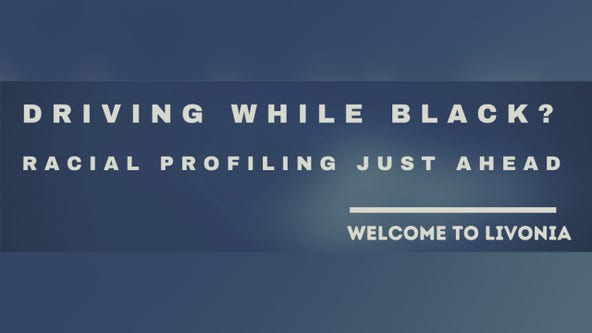 Activist group putting racial profiling billboard outside Livonia hoping to spur change