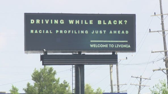 Group behind racial profiling billboard raising money for Livonia traffic stop data request fee