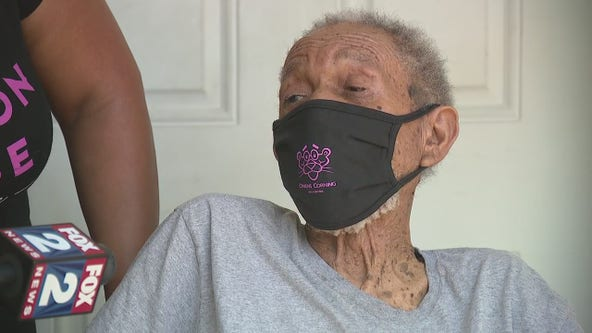 Inkster WWII vet gets new roof for free over 4th of July holiday