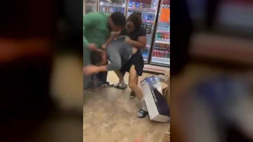 Southfield Family Dollar employee says manager and her son attacked him in store on camera