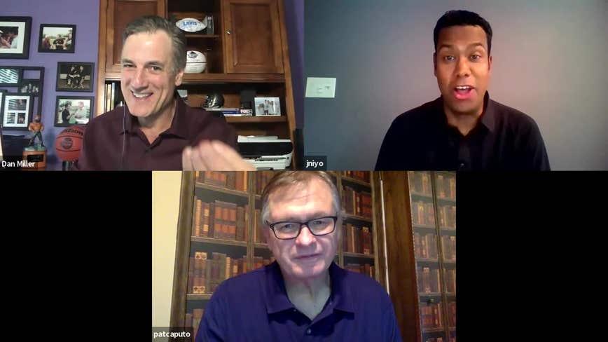WATCH - SportsWorks 7-5-20 -- John Niyo and Pat Caputo sit with Dan Miller with plenty to discuss