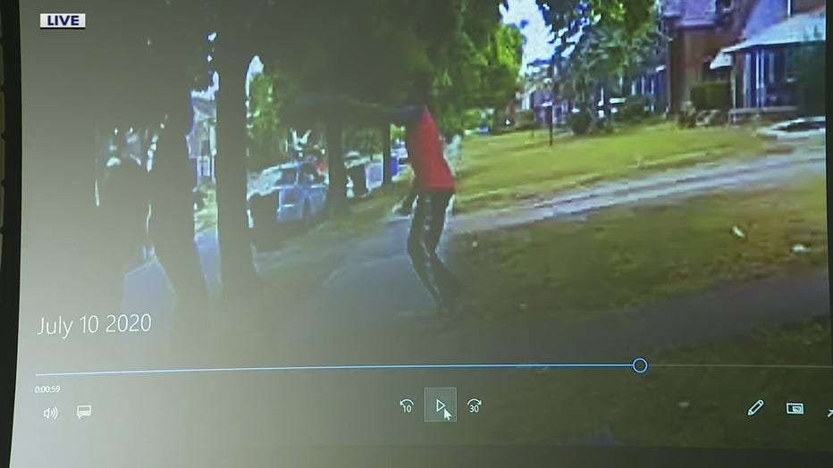 Detroit Police Release Videos Of Man Firing On Officers