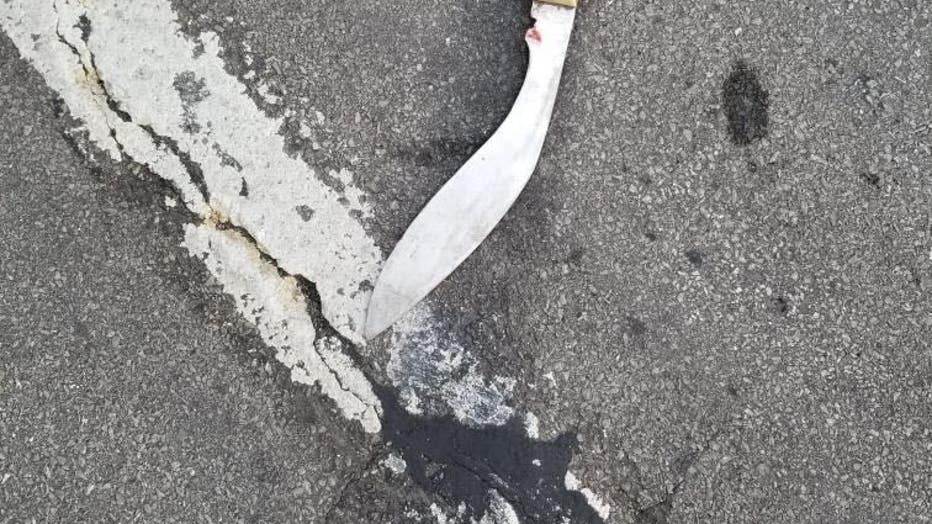 Man Who Charged At Police With Sword And Dagger Injuring