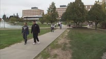 Oakland University offer BioButton for students to wear for in-person classes