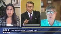 Whose immune? Doctors debate COVID-19