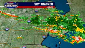 Heavy rainfall causes flooding throughout Metro Detroit, vehicles submerged downtown
