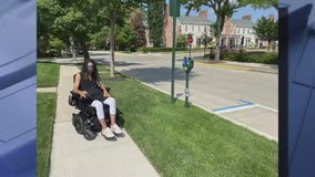Advocate for the disabled spurs Birmingham to improve handicap parking spaces