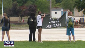 Protesters seek greater accountability, Chief's resignation in Shelby Township