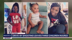 3 kids expected to survive after Pontiac drive by shooting