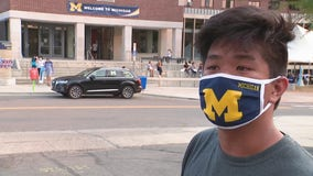 Students arrive at U-M campus with cautious optimism amid pandemic