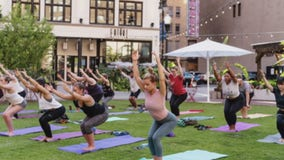 Yoga, spin, karate and more outside classes held at Detroit parks