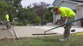 Ripped off family gets new ramp by concrete heroes
