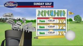 Hot, humid Sunday