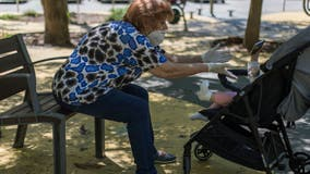 Amid the COVID-19 pandemic, working families are enlisting grandparents to help with the kids