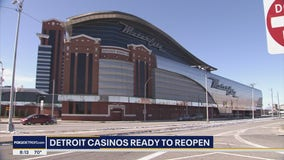 Precautions in place as Detroit casinos set to reopen Wednesday