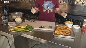 Mexican street corn salad recipe from Brown Iron Brewhouse
