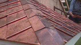 Tips for installing your homemade copper shingles