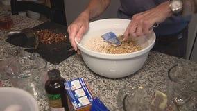 Homemade gluten-free granola bar recipe from Jill of All Trades