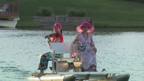 Troy teen puts on evening concerts while paddling through area lakes