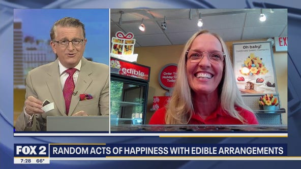 Random acts of happiness with Edible Arrangements