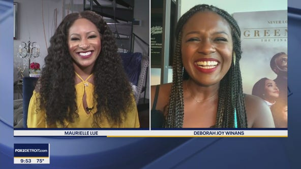 """Deborah Joy Winans talks about her new single and the series finale of """"Greenleaf"""""""