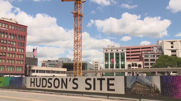 Then and Now: A look back at J.L. Hudson's Department Store in downtown Detroit