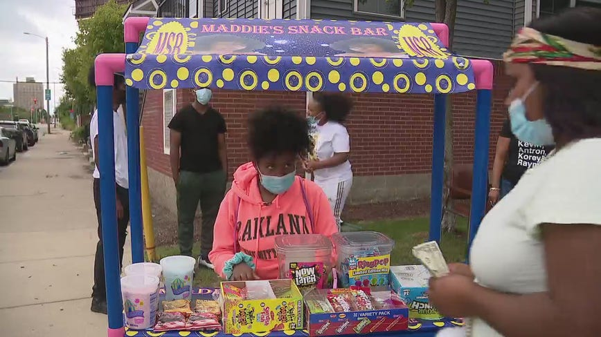 11-year-old's snack bar raises money for family friend stricken with disease