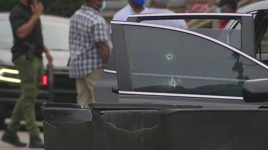 Witness heard 10 shots in ambush that wounded infant boy and 2 adults on Detroit's east side