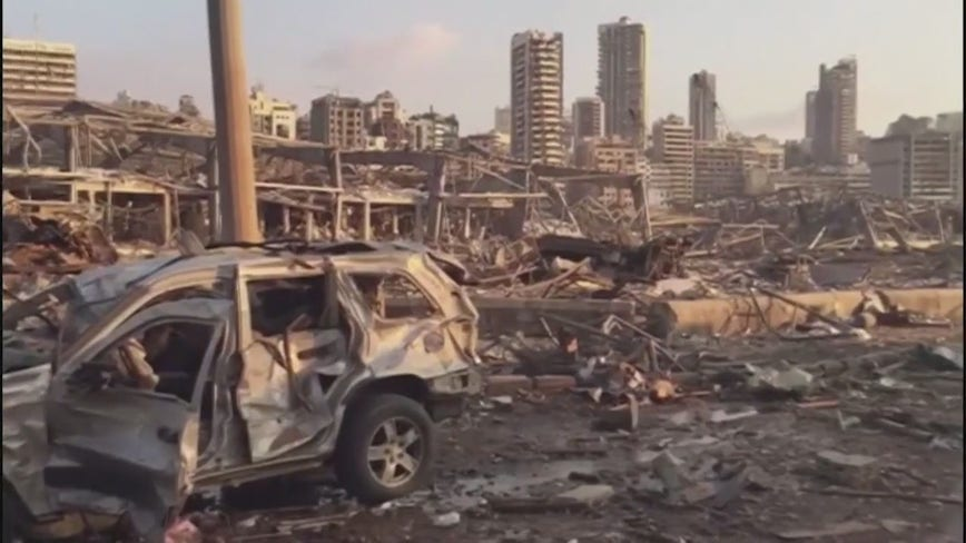 Oakland University medical student raises medical aid supplies for Beirut after explosion