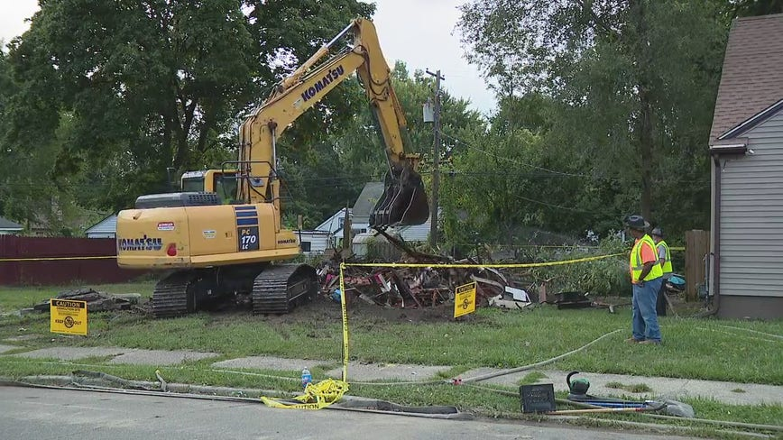 Detroit Land Bank Authority tears down last house with federal grant money