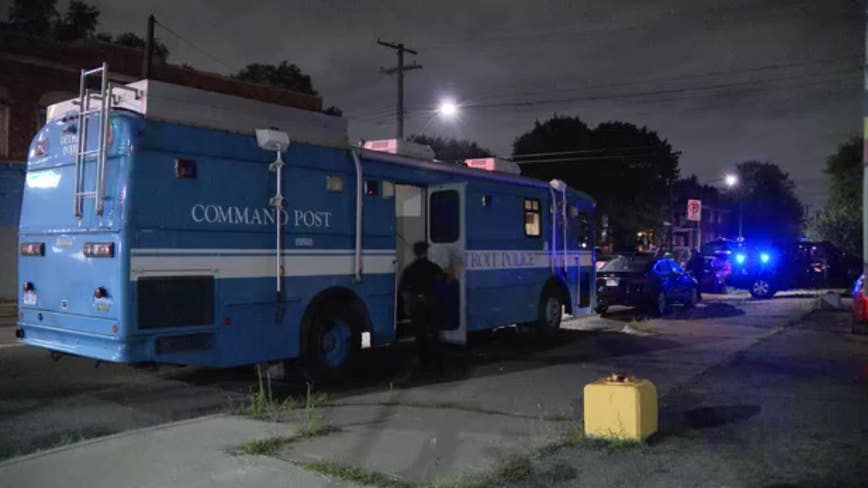 Mom, 1-month-old safe after Detroit police arrest barricaded gunman on city's west side