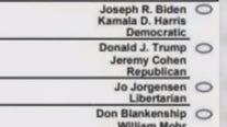 Trump bashes Michigan election official Benson over ballot snafu
