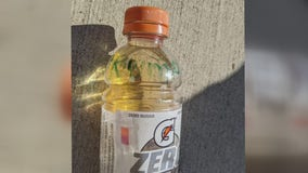 Woman says Gatorade bottle full of urine thrown at house with 'Trump 2020' message