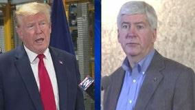 Trump blasts former Gov. Rick Snyder for his Biden endorsement