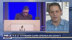 Ruth Bader Ginsburg's impact on former law clerk, presidential election