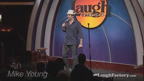 Comedian Mike Young talks about he started his career in Hollywood